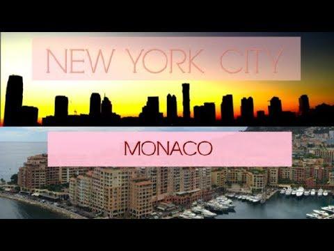 WE WENT TO MONACO & NYC | TRAVEL VLOG