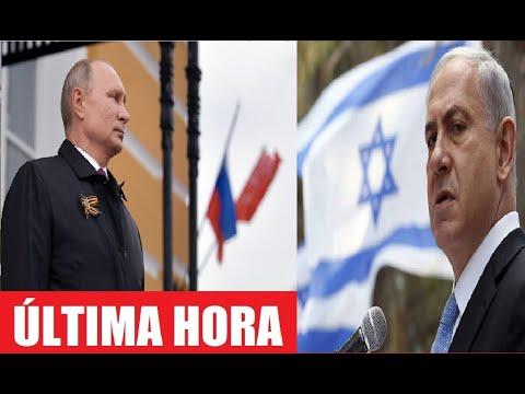 ÚLTIMA HORA! La TRISTE REALIDAD para VLADIMIR PUTIN y RUSIA serán ANIQUILADOS por ISRAEL HOY!