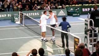 Marat's last point ever (against Del Potro in Bercy 2009)