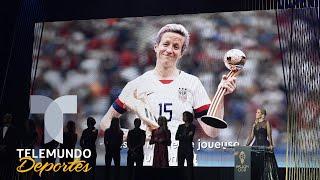 Megan Rapinoe conquista el Balón de Oro Femenino   Telemundo Deportes