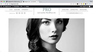 Elegance Pro: Plantilla para fotógrafos de Genesis
