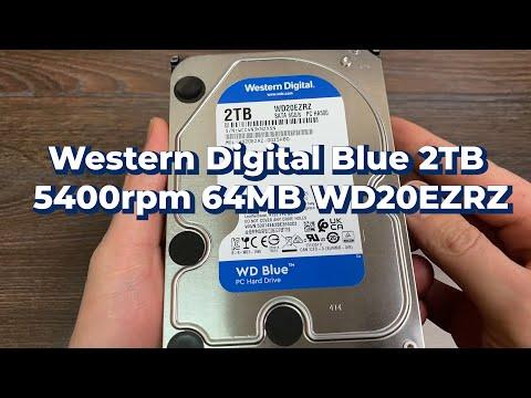 """Жорсткий диск 3.5"""" 2Tb WD WD20EZRZ Blue"""