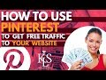 [Get Free Traffic to Your Website with Pinterest 2018]