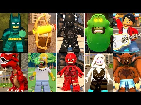 All Sonar Characters In LEGO Videogames