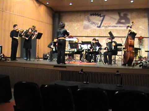 Grupo Fisarmóniko Conservatorio de Murcia. Escualo, A. Piazzolla. Arr: S. Megías