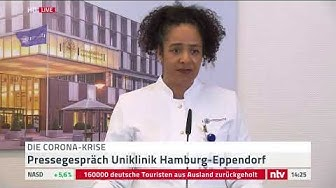 Live: Die Uniklinik Hamburg-Eppendorf gibt ein Statement zu Corona ab