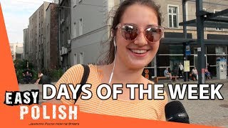 Days of the week in Polish | Easy Polish 99 (for beginners)