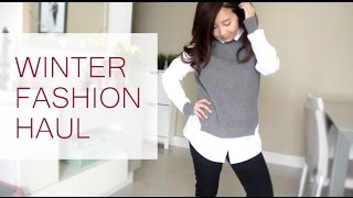 Winter Fashion Haul!
