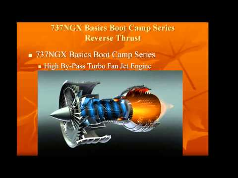737NGX Reverse Thrust Part 1 (Boot Camp Series)