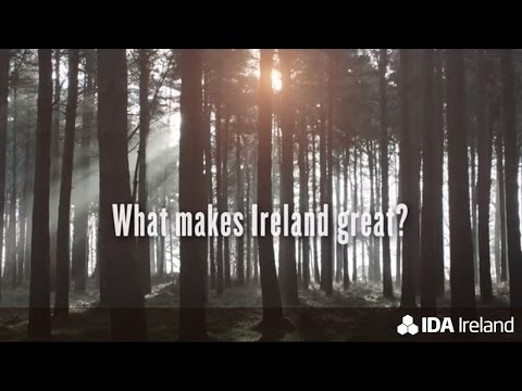 What makes Ireland great, makes Ireland great for business (30 second tv ad)