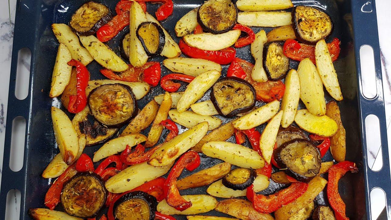 Ужин без мяса в духовке, без возни и заморочек! Рецепты на каждый день