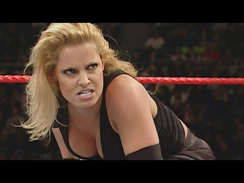 Trish Stratus demolishes Victoria: Raw, Jan. 3, 2005 (WWE Network Exclusive)