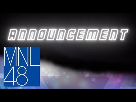 MNL48: 5th Single Announcement