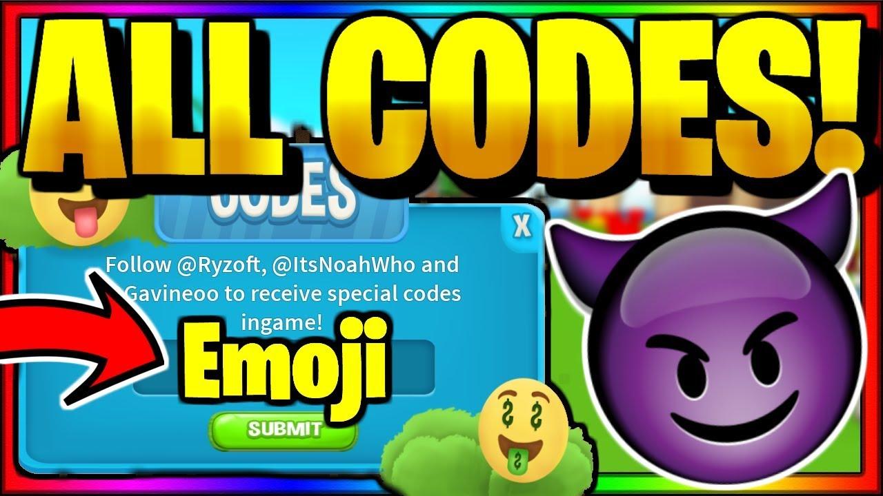 All Secret Op Working Codes Roblox Emoji Simulator Youtube