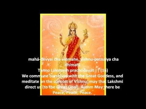 Sri Suktam{Subtitles} Vedic Hymn for Prosperity