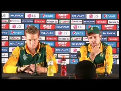 Live Post Match Press Conference South Africa v Zimbabwe - Hamilton