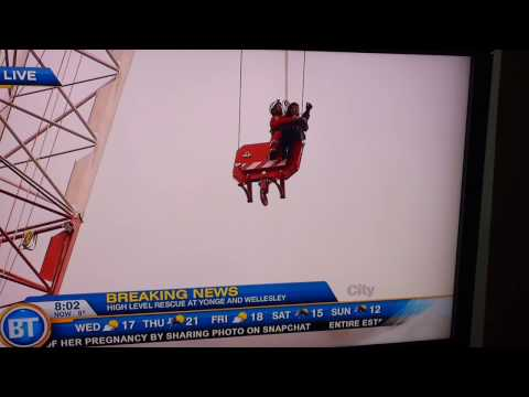 Woman rescued from Toronto crane May be The Blue Whale!?!