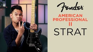Fender American Pro II STRATOCASTER - Play Like A Pro