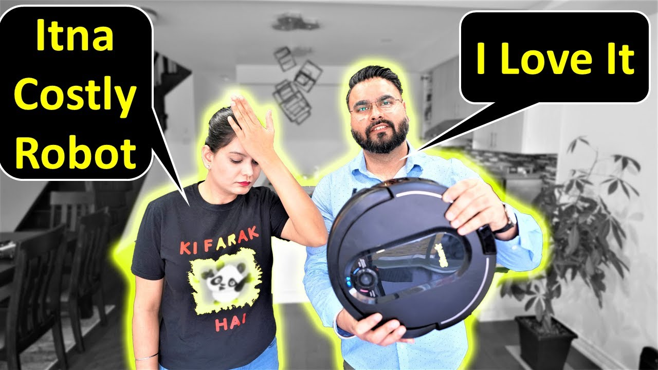 Itna Costly Robot Kyu Liya 😲 | Big Announcement & Giveaway | Canada Couple Vlogs