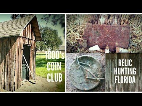 1800's Coin Club Metal Detecting Victorian Farm House