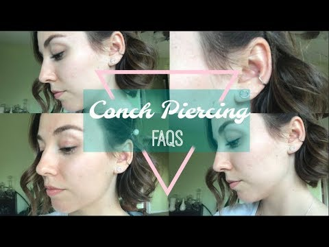 Conch Piercing Review/ FAQs Mp3