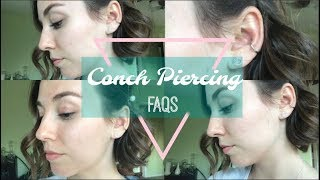 Conch Piercing Review/ FAQs