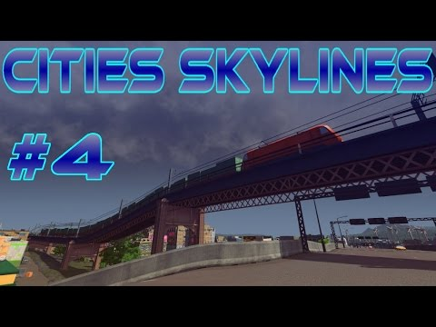 Radial Layout | Forced Lane Usage | Final Traffic Pattern - Cities Skylines #4