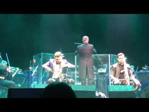 2Cellos  in London  Godfather  Braveheart HQ sound