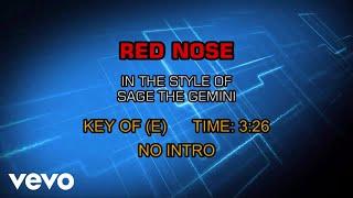 Sage The Gemini Red Nose Karaoke.mp3