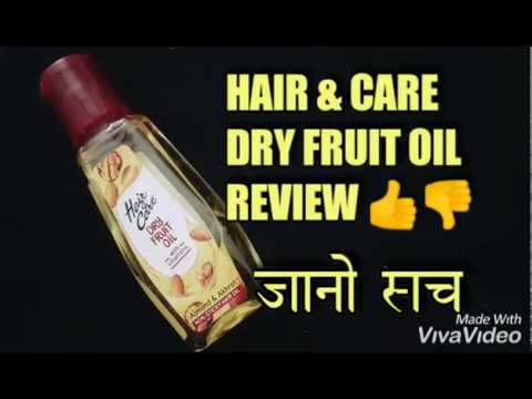 Hair And Care Dry Fruit Oil Review Hindi Hair Care Dry Frui Youtube