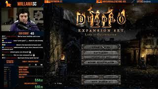 Diablo 2 - HELL NAKED DRUID SPEEDRUN - Part 1