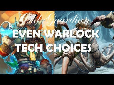 Teching Even Warlock (Hearthstone Rastakhan deck building)