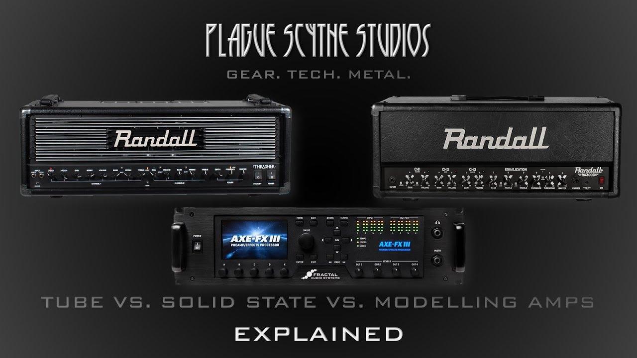 tube vs solid state vs modelling amps explained youtube. Black Bedroom Furniture Sets. Home Design Ideas