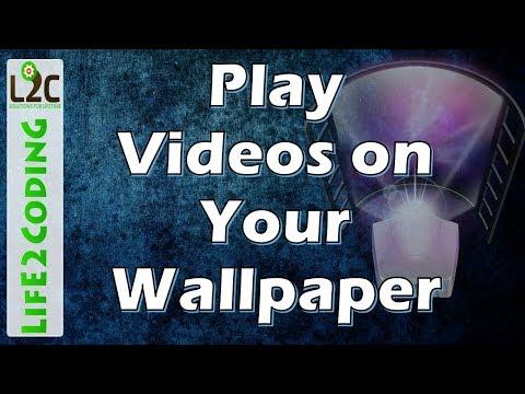 Video Wallpaper On Windows 10 , 8 , 7 Using Push Video Wallpaper 3.49 Full Version