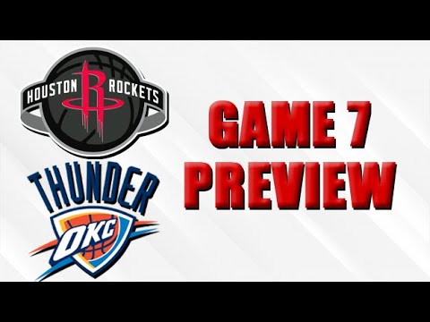 Rockets vs Thunder Game 7 Preview
