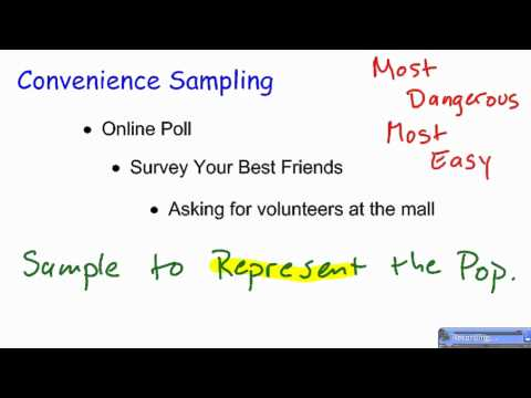 Convenience Sampling Youtube