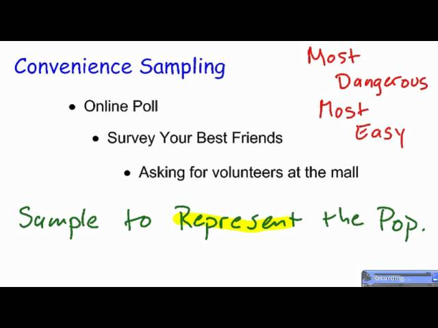 Sampling Design: Non Random/ Non Probability Sampling Design ...
