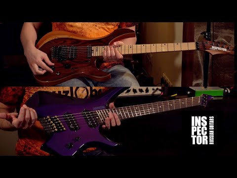 Концептуальные гитары INSPECTOR ДЖОКЕР и Безголовая КАТАНА | Muzlobor