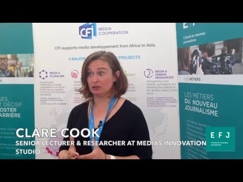 Clare Cook (Medias Innovation Studio) à #4MParis