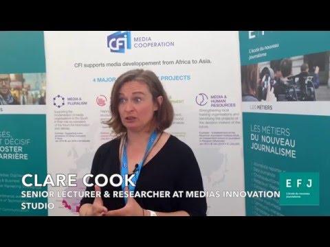 Clare Cook (Medias Innovation Studio) à #4MParis