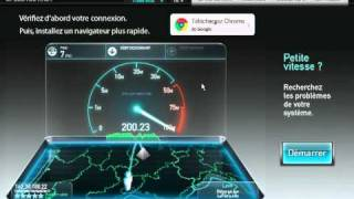 Speedtest Université Montpellier 2 +200 Mbps - Test de débit