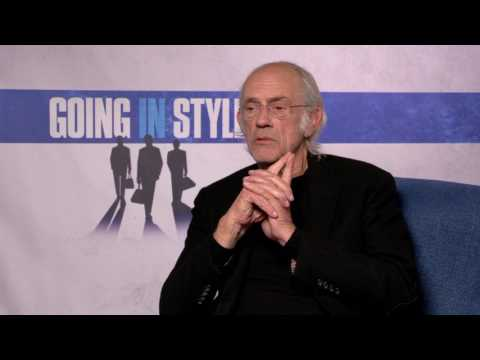 Going in Style || Christopher Lloyd  Open End Interview || SocialNews.XYZ