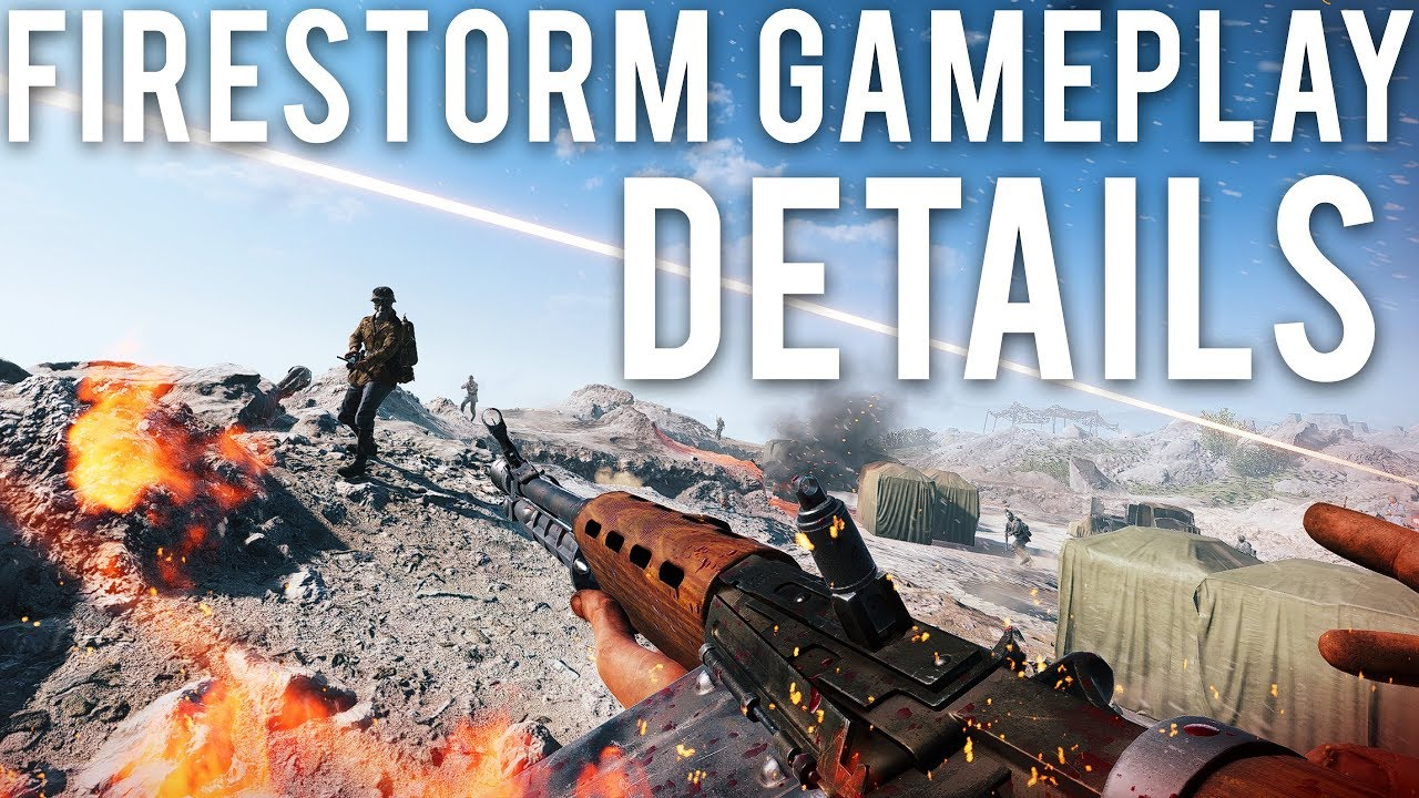 Firestorm Gameplay Details - Battlefield 5