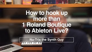 Download lagu How to hook up more than 1 Roland Boutique to Ableton Live MP3