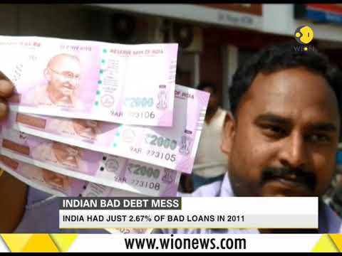 Bad debts hit record in India