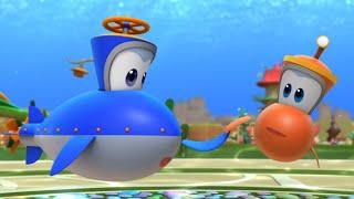 Мультфильмы - Марин и его друзья - Марин быстрее всех -Подводные истории