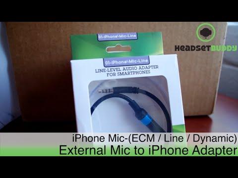Line Level Audio Input Adapter for iPhone & Smartphones