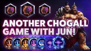 ChoGall Hammer - ANOTHER CHOGALL GAME WITH JUN! - Grandmaster Storm League