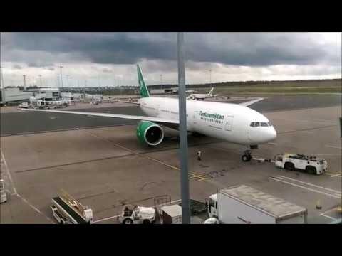 Birmingham Airport Ground Movements (inc Emirates A380 & 777-200LR) HD