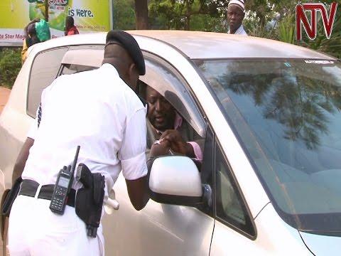 Kampala traffic police cracks down on unqualified drivers